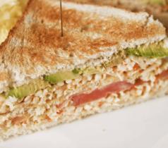 Club Sandwich au Râpé de la Mer Coraya