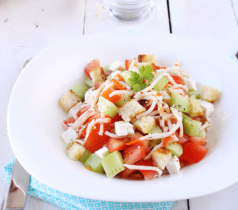 Salade grecque au Râpé de la Mer Coraya