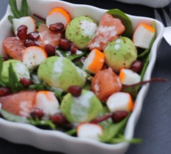 Salade exotique aux Bâtonnets l'Original Coraya