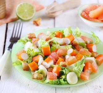 Salade Coraya au pamplemousse