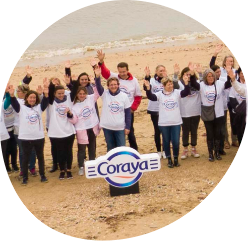 Nettoyage des plages Normandes