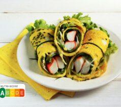 Omelette roulée à la japonaise et l'Original de Coraya