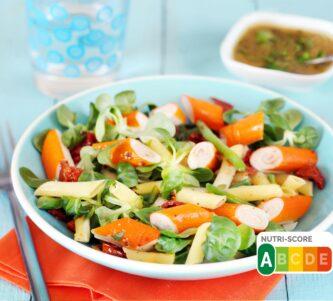 Salade de penne au surimi L'Original de Coraya